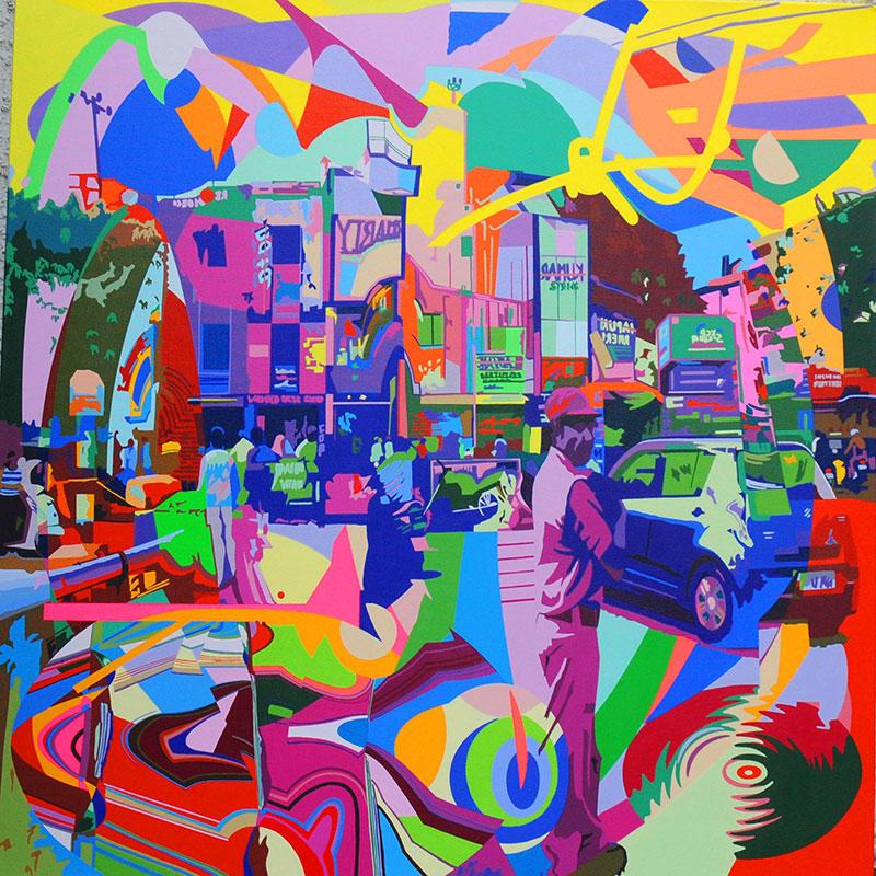 moving-focus(36'x36')acrylic-on-canvas-2014