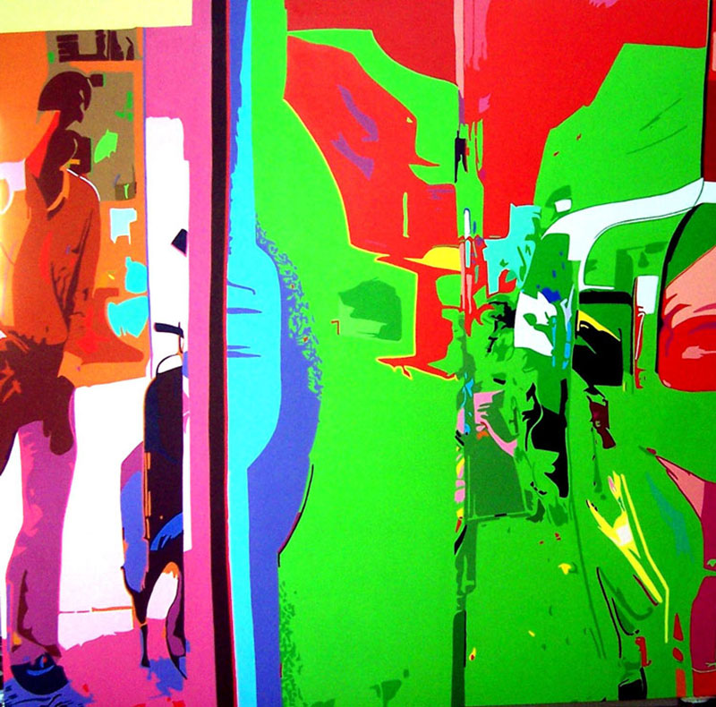 A selfwilled blindness-II diptych
